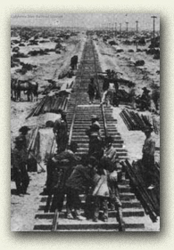Laying Down Railroad Track